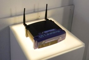A-Linksys-router-Museum-of-Broken-Relationships